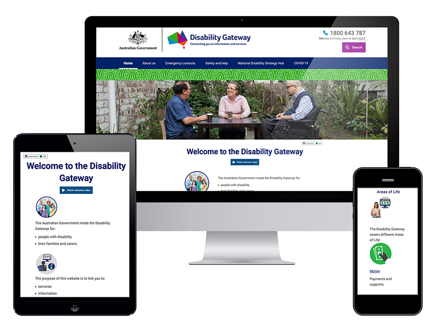 The Disability Gateway website