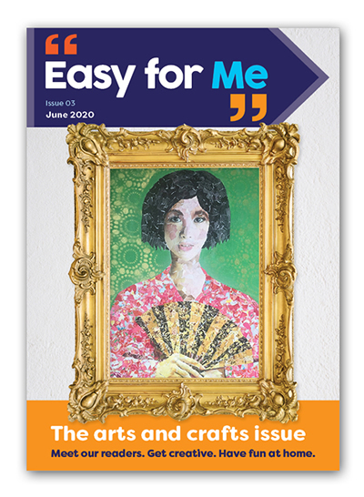 Easy for Me Issue 3 cover